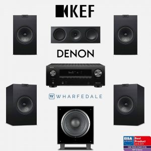 KEF-DENON Home Theater System 1